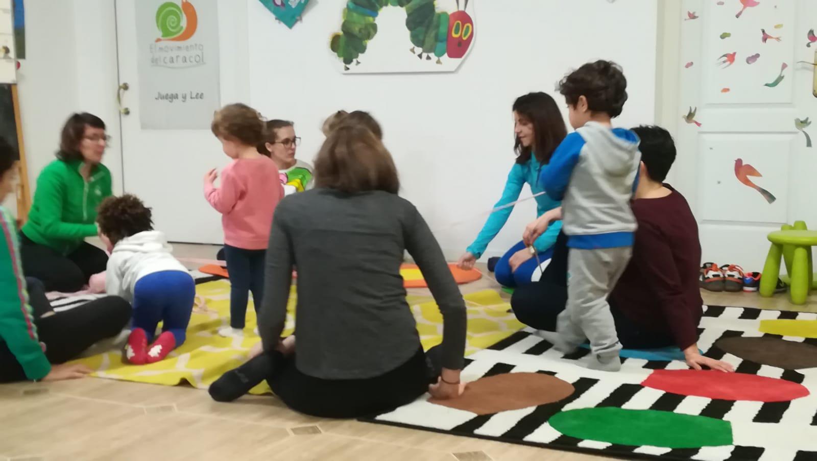 el movimiento del caracol juegos madres