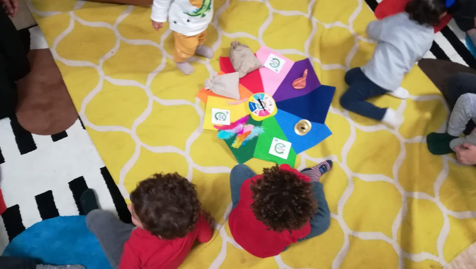 el movimiento del caracol juegos niños