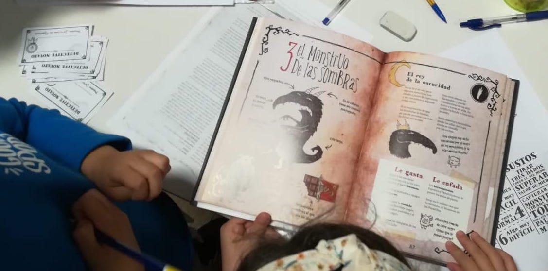 el movimiento del caracol taller lectura