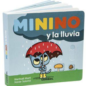 Minino y la lluvia
