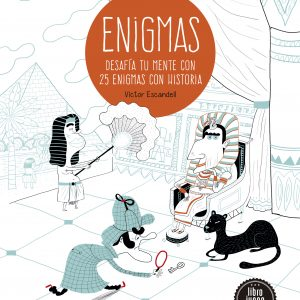 Enigmas Desafia tu mente con 25 enigmas con historia