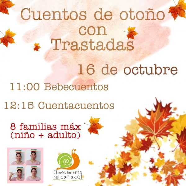 Cuentos de otoño con Patricia de Trastadas de Mamá